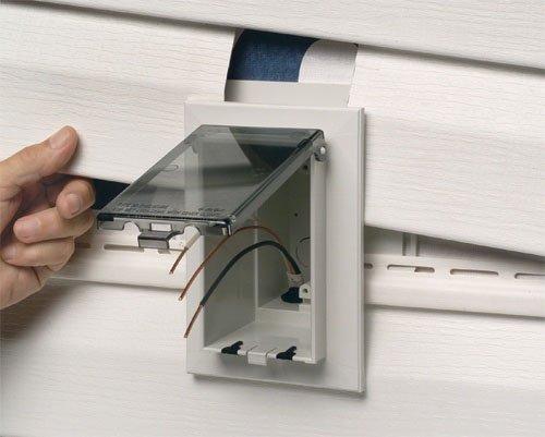 Vinyl J Block Electrical Box, Vinyl, Free Engine Image For ...