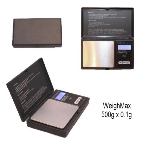 Weighmax 650g X 0.1 Digital Gram Coin Pocket Mini Accurate Gold Scale