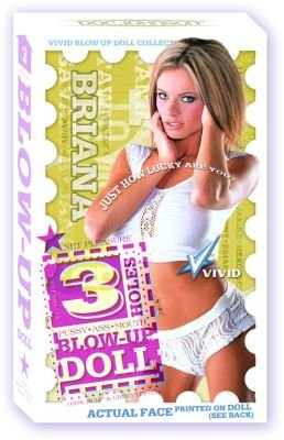 Briana 3 Hole Blow-up Doll from XR LLC