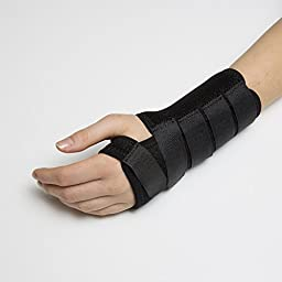 Calibre QT Wrist Support, Instant relief for Carpal Tunnel and Tendonitis. Don\'t let wrist pain get in the way of your hobbies and tasks! (Small Right)