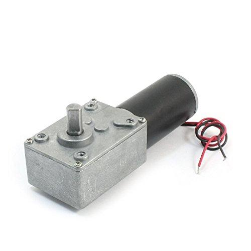 Dc 24V 8000Rpm 240Rpm Rotary Speed Reduce High Torque Worm Gear Motor