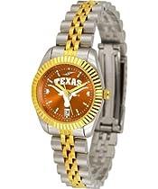 Texas Longhorns UT NCAA Womens Anochrome Gold Watch