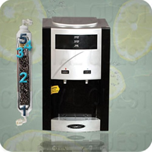 Crystal Quest Cqewc00908 Turbo Countertop Water Dispenser With Instant Chlorine Oxidation