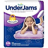 Pampers UnderJams Size S/M 17 Count Absorbant Underware With Nightlock