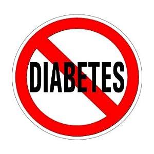 Amazon.com: No Diabetes - Window Bumper Sticker: Automotive
