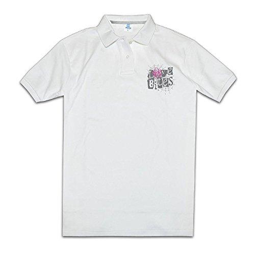 Aj Lee Love Bites Men's White Polo Shirts Novelty T Shirts (Aj Lee Love Bites Shirt compare prices)