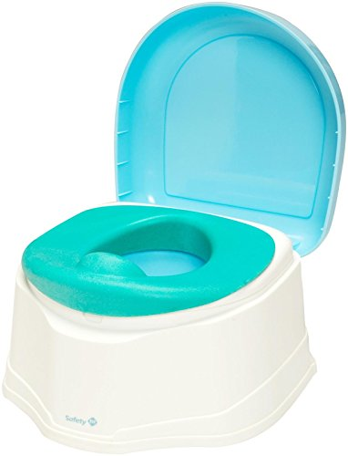 Safety 1st Clean Comfort 3-in-1 Potty Trainer, Blue