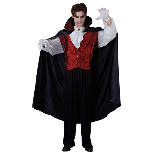 Wicked Prince Of Darkness Mens Halloween Costume small