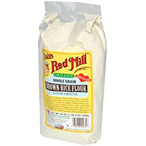Bob's Red Mill Organic Brown Rice Flour -- 24 oz
