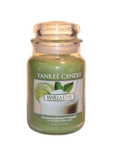Yankee Candle Vanilla Lime Large Jar 22oz Candle