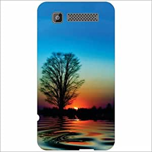 Intex Cloud Y11 Back Cover - Silicon Fresh Nature Designer Cases