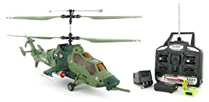 PAH-2 Tiger 4CH Electric RTF Remote Control RC Attack Helicopter (Color May Vary)