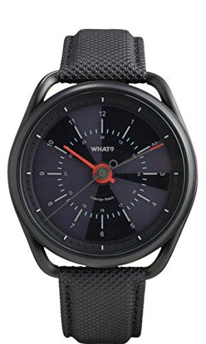 What-Calendar-Watch-Gunmetal-Black