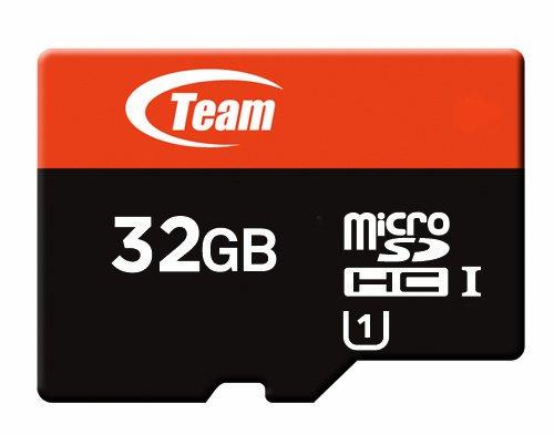 Team MicroSDHC������ 32GB Class10 UHS-I �б� ECO�ѥå����� (��Ǽ�������դ�) 10ǯ�ݾ�