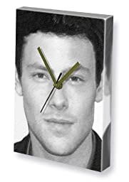 CORY MONTEITH - Canvas Clock (LARGE A3 - Signed by the Artist) #js004