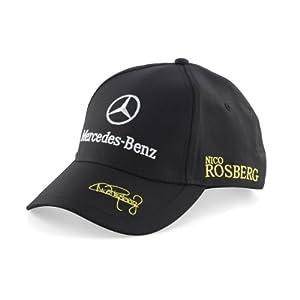 Mercedes amg petronas puma cap nico rosberg drivers cap for Mercedes benz hat amazon