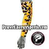 Baseball Sports Compression Arm Sleeve - Digital Camo Yellow