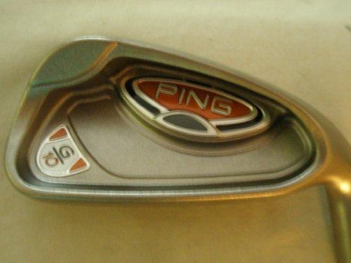 Ping G10 7 iron Yellow Steel Cushin Regular 7i G 10 NEW