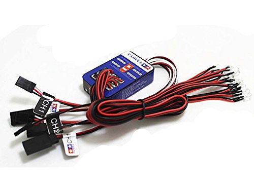 Hobbypower Tamiya 12 Led Simulation Lights Smart System Flash Lighting For Rc 1/10 Car