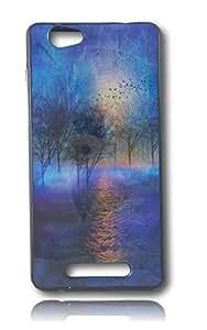 BlueArmor Sparkle Back Soft Cover Case for Xolo Era X Design 27