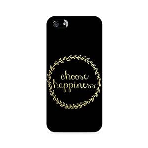 RAYITE Choose Happiness Premium Printed Mobile Back Case For Apple iPhone 5/5s Apple iPhone 5,Apple iPhone 5s,Apple iPhone 5s Cover,Apple iPhone 5s Back Cover,Apple iPhone 5s Cases and Covers,Apple iPhone 5s 32 GB,Apple iphone 5s 16 GB,Apple Iphone 5s Case