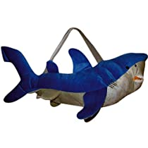 Kids Bags Online - Sealife Overnight Plush Bag - Shark