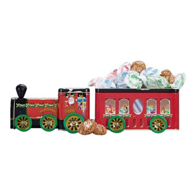 Amaretti Del Chiostro Collectible Train Tin 100g (Italian Amaretti compare prices)