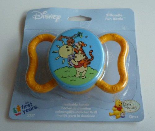 Disney Winnie the Pooh & Friends 2 Handle Fun Rattle - 1