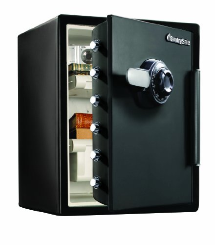 SentrySafe SFW205CWB Water-Resistant Combination Safe, 2X-Large (Safe 2 Cubic Feet compare prices)