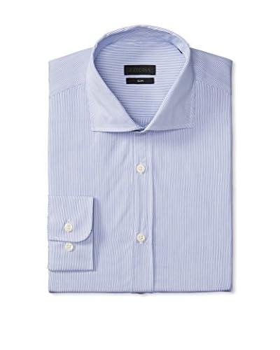 Z Zegna Men's Striped Sport Shirt