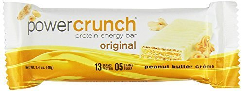 BioNutritional Research Group Power Crunch Protein PB Creme 12 - 1.4oz bars (OR Net WT 16.8oz) by BIONUTRITIONAL RESEARCH GROUP