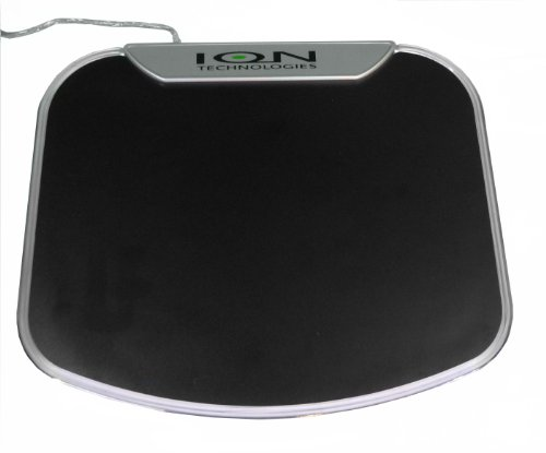 Illuminating Mouse Pad And Usb 2.0 High Speed 4-Port Hub