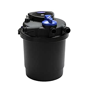 1600 gal pressure pond filter w 13w uv for Best pond filter review