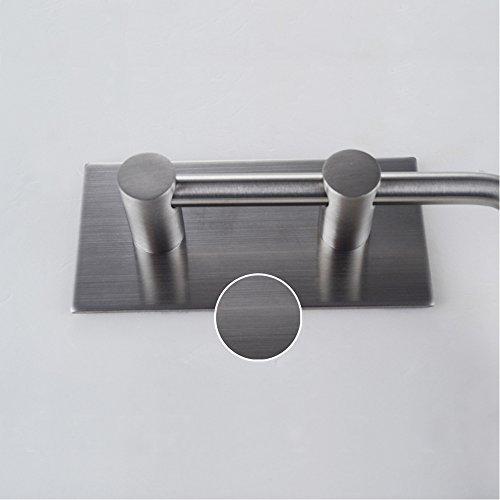 self adhesive sus 304 stainless steel toilet paper holder tissue roll hanger us ebay. Black Bedroom Furniture Sets. Home Design Ideas
