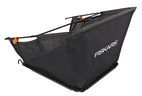 Fiskars 6210 StaySharp Reel Mower Grass Catcher For 6201