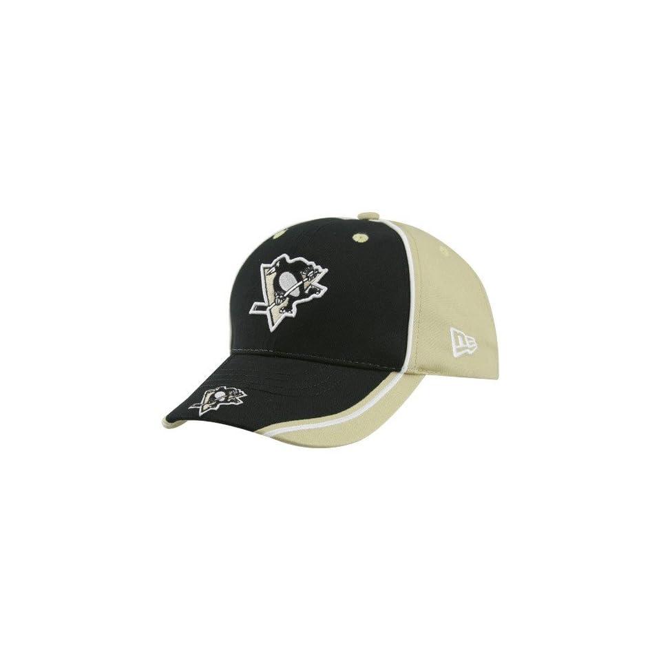 6831fc44c New Era Pittsburgh Penguins Youth Black Jr. Opus Adjustable Hat on ...