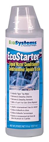 Aquascape - EcoSystems EcoStarter Liquid 8 oz - Pond Start-up Treatment - Heavy Metal Neutralizer
