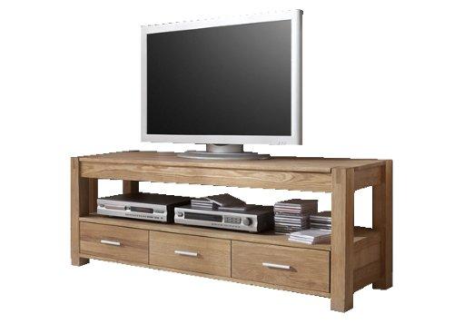 SIT-Möbel 3821-01 TV-Board Okay, 147 x 45 x 55 cm, eichefurnier massiv geölt