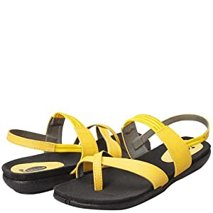 Starlet Sandals Women ST 101051 Yellow