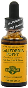 Herb Pharm California Poppy Extract Mineral Supplement, 1 Ounce
