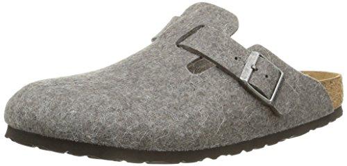 birkenstockboston-zoccoli-unisex-adulto-grigio-grigio-39