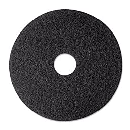 3M 23 Inch Black Stripper Pads 7200