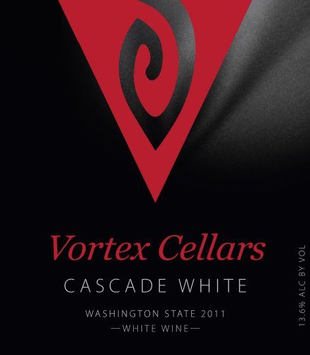 "2011 Vortex Cellars ""Cascade White"" Blend Of Viognier & Chardonnay 750 Ml"