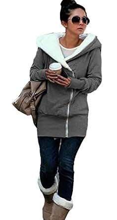 Juicy Trendz dames de nouvelles zip double femmes de concepteur hoodies sweat haut chandail à capuche manteau de veste