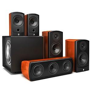 aperion audio verus grand bookshelf hd cherry best buy. Black Bedroom Furniture Sets. Home Design Ideas