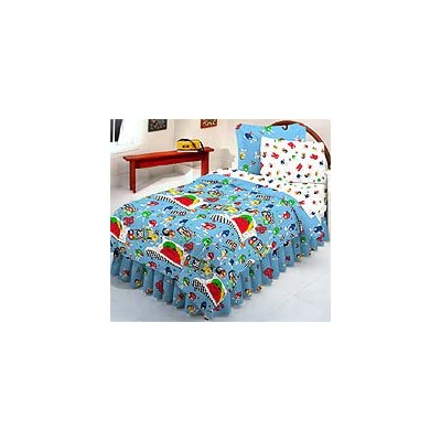 Nascar's Elliot Sadler - M&M 38 - 6pc Bedding Set - Twin / Single Size