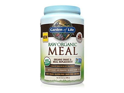 Garden of Life RAW Organic Meal - Chocolate, 34.8oz (986g) (Beyond Organic Chocolate compare prices)
