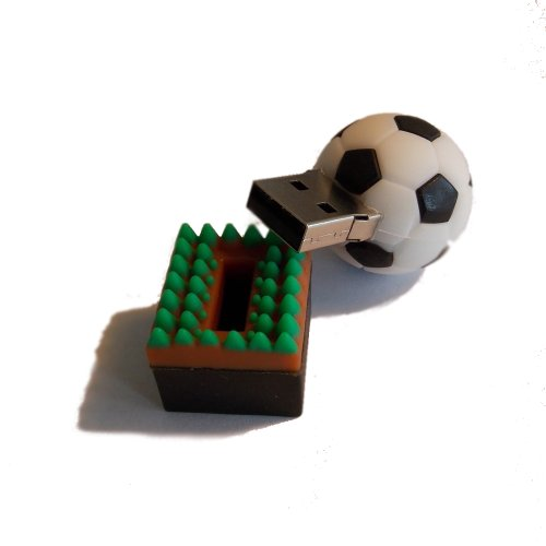 memory stick cl usb ballon de foot 8go. Black Bedroom Furniture Sets. Home Design Ideas