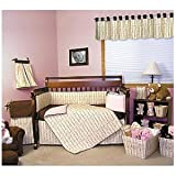 Trend Lab Baby 6pc Bedding Set - Winterberry Pink