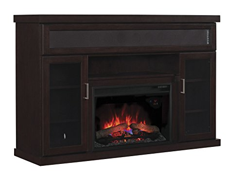 Classic Flame 26Mms9726-E451 New Tenor Media Fireplace Mantel, 26-Inch